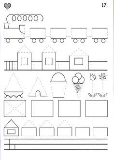 อัลบั้ม - Google+ Pre Writing, School Readiness, Coloring Pages For Kids, Pre School, Fine Motor, Special Education, Mathematics, Worksheets, Kindergarten
