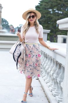 Suburban Faux-Pas by Krystin ( Maxi Outfits, Outfits Mujer, Dressy Outfits, Modest Outfits, Modest Fashion, Stylish Outfits, Fashion Outfits, Floral Fashion, Work Outfits