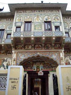 Shekhawat Haveli, Mandawa, Rajasthan - Haveli – Wikipedia