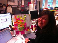 Personal visual display at the desk!