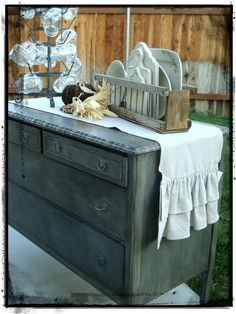 Cottage Farmhouse Shabby Chic Table Runners by tatteredgoods, $38.00