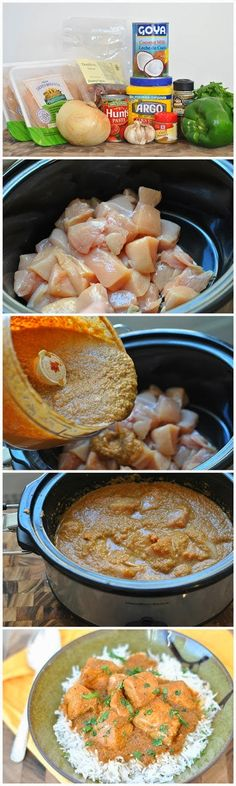 Slow Cooker Coconut Chicken Curry | Best Recipes Ever