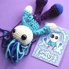 Emily the Amigurumi Voodoo Doll