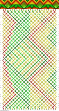 30 strings, 54 rows, 9 colors
