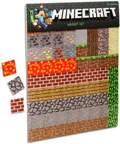 Minecraft Sheet Magnets