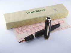 "Vintage ""Montblanc 252"" Fountain Pen with Rare ""Steno"" Nib-Germany 1950s #Montblanc"