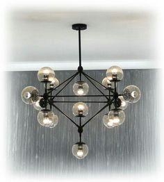 Jason Miller replica, Modo chandelier, 15 lights.