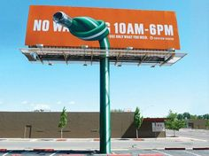 30 Creative Examples of Ambient Advertising by Denver Water Guerrilla Marketing Photo Clever Advertising, Advertising Design, Marketing And Advertising, Viral Marketing, Marketing Ideas, Funny Commercials, Funny Ads, Funny Signs, Funny Jokes