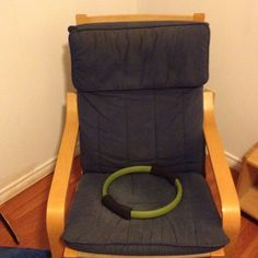 Well-loved poang chair. Free to a good home