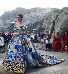 Dolce and Gabbana Capri Party | DOLCE & GABBANA ITALIAN COUTURE COLLECTION