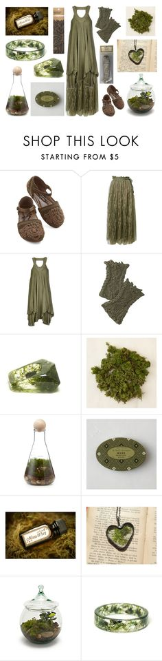 Treasures of the Forest Floor by maggiehemlock on Polyvore featuring Object…