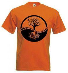 Tree of life tee Tree Of Life Quotes, Yin Yang, Size Chart, Prints, Mens Tops, T Shirt, Ink, Tees, Water