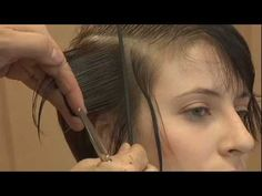 ARROJO education - Classic Sqaure Layer Haircut - YouTube