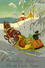 Martta Wendelin. A christmas card.
