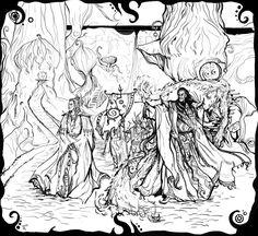 красивые картинки,TES art,The Elder Scrolls,фэндомы,Morrowind,Telvanni,Дом Тельванни,Великие Дома (TES)