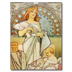 Art Nouveau Mother Goddess