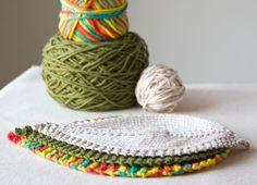 Leafy Washcloth by Megan Goodacre free patterns