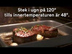 Something Sweet, Fine Dining, Steak, Food And Drink, Favorite Recipes, Beef, Dinner, Cooking, Kitchen