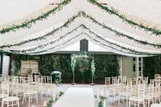 Our stunning orangery ceremony venue