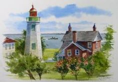 Old Point Comfort Lighthouse by Richard Moore