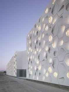 CONTEMPORARY ART CENTER CÓRDOBA | Spain | Façade of the Year 2013 | WAN Awards #architecture ☮k☮