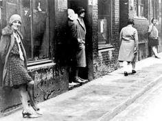 Prostitutes, Hamburg, Germany. 1920.