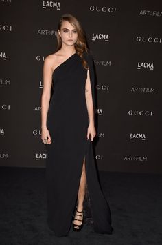 Pin for Later: Which Stylish Star Looked Most Glam in Gucci? Cara Delevingne