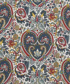 Liberty Art Fabrics Kitty Grace A Tana Lawn, Liberty Art Fabrics