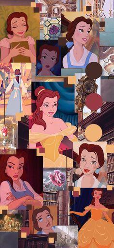Spongebob Iphone Wallpaper, Dark Wallpaper Iphone, Bear Wallpaper, Cute Disney Wallpaper, Cute Anime Wallpaper, Cartoon Wallpaper, Beauty And The Beast Wallpaper, Disney Word, Disney Collage