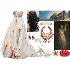 """Amphitrite (Goddess of the Sea and Queen of the Sea)"" by lilacmayn on Polyvore"