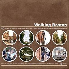 Boston scrapbooking idea!