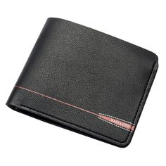 New 2017 Wallets for Men Money Bag Soft Solid PU Leather Short Zipper Bifold Coins Pockets Male Walets Purses Cards Holders