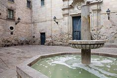 Plaça Sant Felip Neri is one of the most charming squares in the Gothic Quarter of Barcelona.
