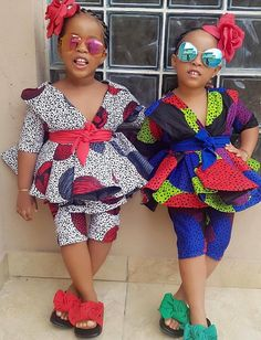 African wear dresses for kids #africanfashionstyles