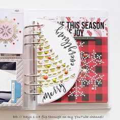 If any of you is interested, I've uploaded a flip through of my #decemberdaily (Days 1-14) to my YouTube channel. I will try to post photos here but the weather has been so bad I just don't have enough light . So the video isn't the greatest either . Anyway, if you're interested, take a look . #scrapbooking #papercrafting #christmas #memories #papercrafts