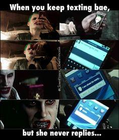 The Joker and Harley Quinn meme                                                                                                                                                     More