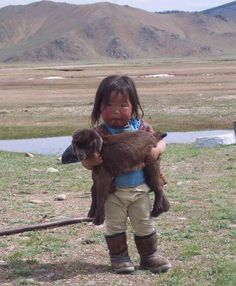 I'm always filled with such joy when I see these faces!!  Mongolia.