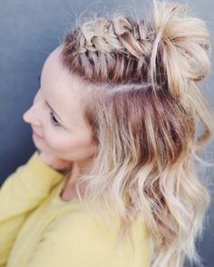 100 of the Best Braided Hairstyles You Haven't Pinned Yet via Brit + Co