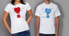 Cute Outfits Matching Ideas for Couples - LooksGud. Matching Couple Outfits, Matching Couples, Couple Tees, Boyfriend Girlfriend, Girlfriends, Cute Outfits, Mens Tops, T Shirt, Collection