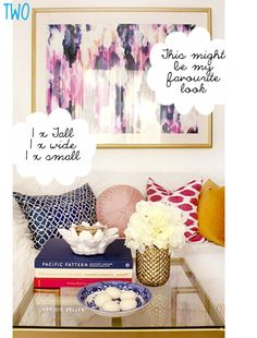 five kinds of happy: How to style a coffee table - and a peek at our new place