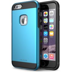 iPhone 6 Case, i-Blason Apple iPhone 6 4.7 Case Unity Series 2 Layer [Ultra Slim] Armored Hybrid Cover with Inner Soft Case and Hard Outter Shell for iPhone 6 (Blue)