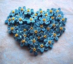 forget me not by Quill Mary, via Flickr