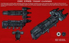 CR25 Troop Carrier ortho [New] by unusualsuspex on DeviantArt
