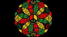Rasta Peace Mandala For Sale on tshirts, tanks, hoodies, phone cases, artwork etc. Reggae Art, Reggae Style, Hippie Peace, Hippie Art, Rasta Tattoo, Rastafari Art, Rasta Art, Rasta Colors, Art Therapy Projects