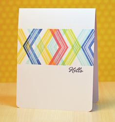 Ribbon Girls {Handmade Cards}: Moxie Fab World The Movement Challenge