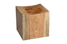 Pedra Stool    Can be made from reclaimed or naturally fallen Jatobá, Peroba, or Vinhático wood.