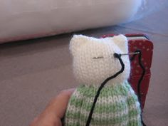 Nanna with a purpose: Knitting Teddies in One Piece
