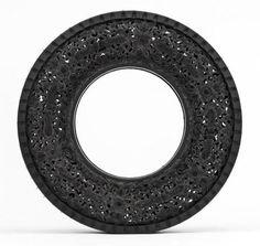 Carved Tires by Wim Delvoye - Design Milk