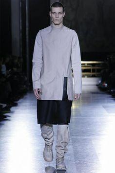 Visions of the Future: Rick Owens Menswear Fall Winter 2014 Paris - NOWFASHION