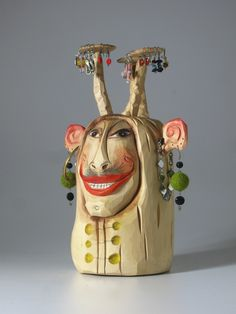 Galerie Hana Richterová Hana, Wood Carving Art, 3d Design, Sculptures, Home Decor, Decoration Home, Room Decor, Sculpting, Interior Design